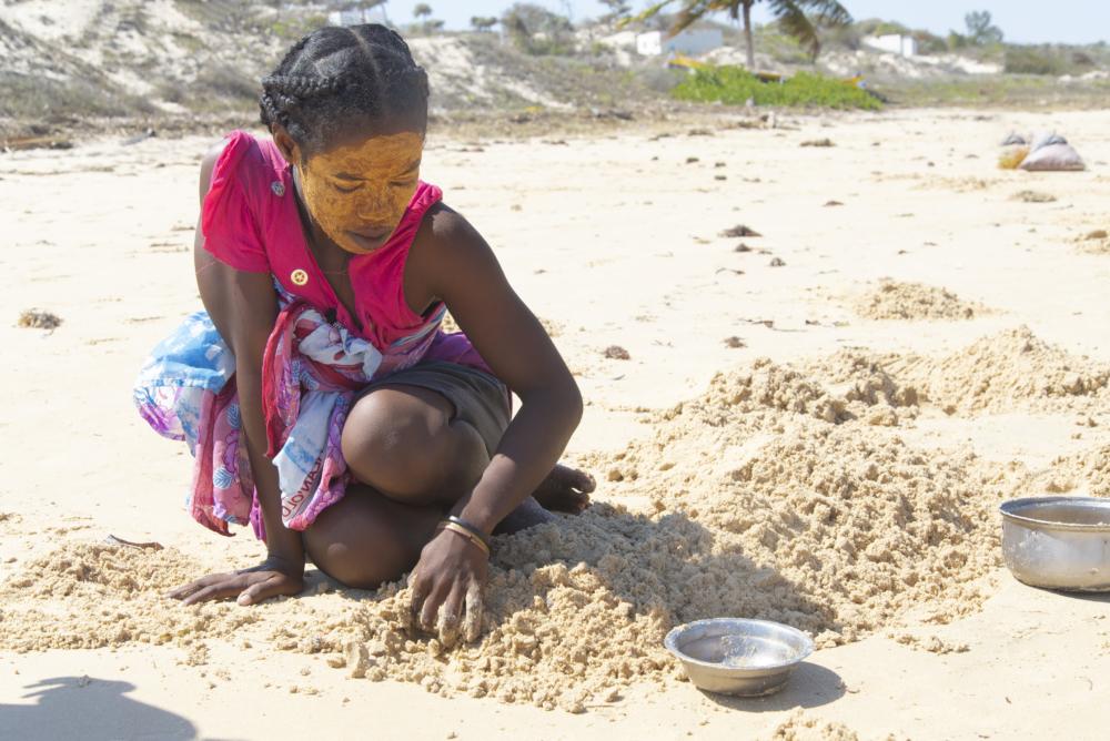 Platja Madiorano. Madagascar