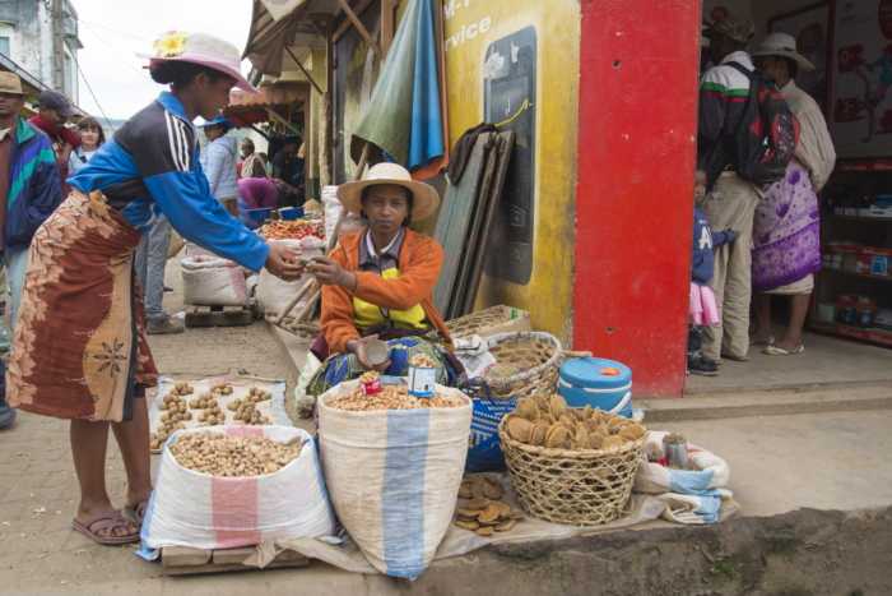 Mercatr Ambalavao. Madagascar